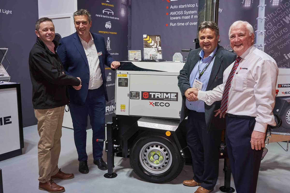 Trime' lighting towers expand into Northern Ireland